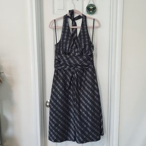 Donna Ricco sexy halter dress